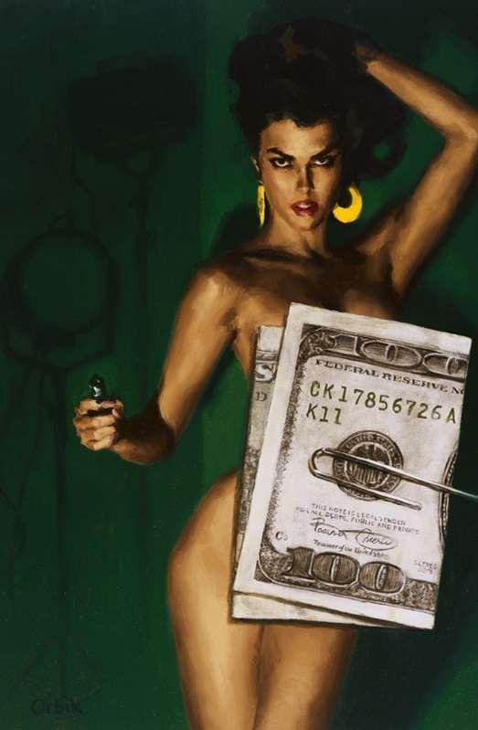 Money $hot by Glen Orbik