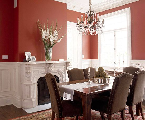 Casual dining rooms farmhouse table room and decorating for Informal dining room decorating ideas