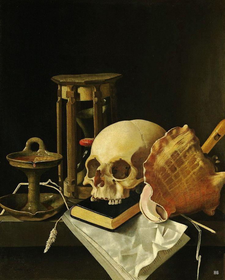 Vanitas. 17th.century. Adriaen Coorte. Dutch 1660-1707 ...