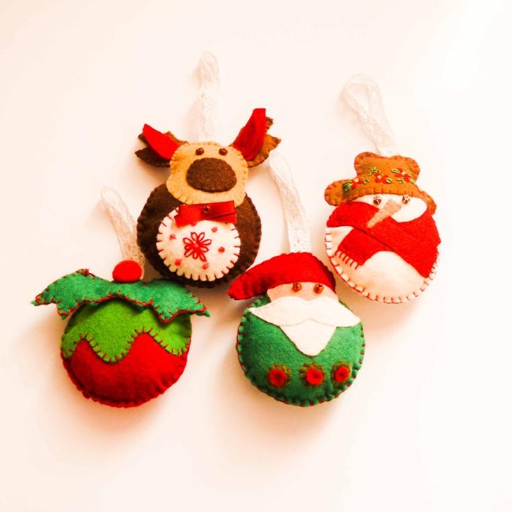 Handmade by Martha Stark   tags: #Christmas, #decorations #Santa #Snowman #holidays #Xmas