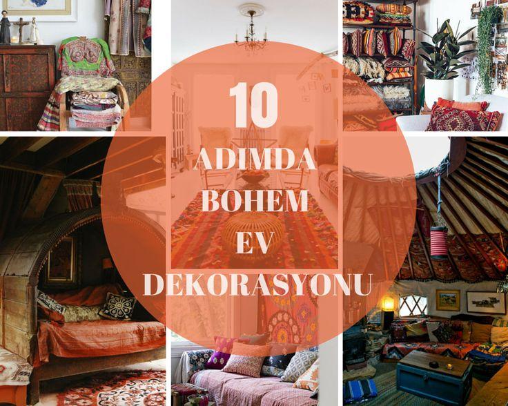 10  ADIMDA BOHEM  EV DEKORASYONU