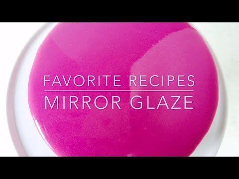 How to make a Mirror Glaze cake - CakesDecor