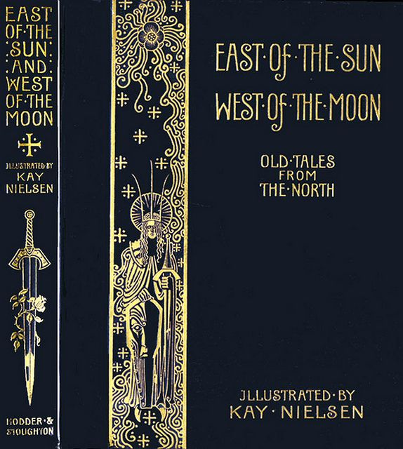 Rare East of the Sun West of the Moon First Edition Book Cover--Kay Nielsen
