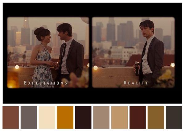 500 Días con ella, Marc Webb (2009) | 29 Escenas de películas inolvidables para todos los amantes del color