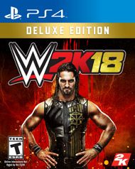 WWE fans, sports gamers, and fighting game fanatics - the biggest video game franchise in WWE history is back with WWE 2K18!  Get the most out of your WWE 2K experience with the WWE 2K18 Deluxe Edition.  The Deluxe Edition grants you access to even more Superstars and moves, including the WWE 2K18 Season Pass, MyPlayer Kick Start and more awesome content to be announced soon!