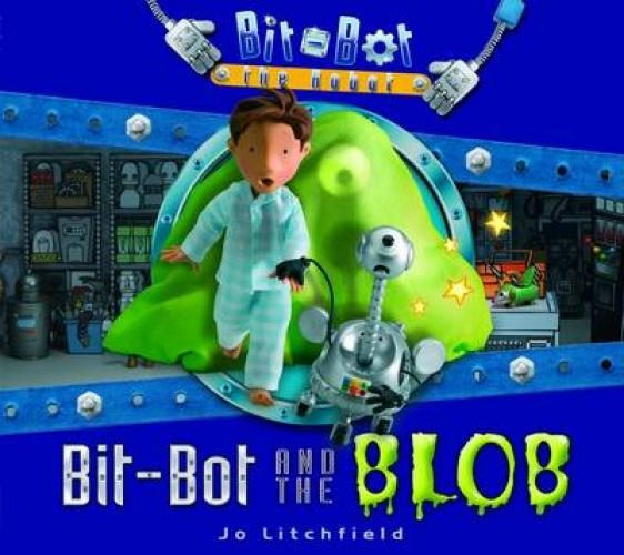 Jo Litchfield's fantastic BIT-BOT and the BLOB!!