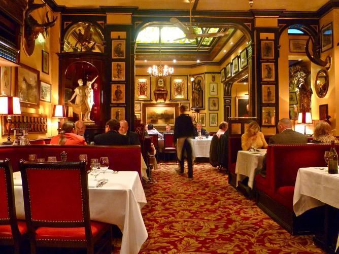 London British restaurants