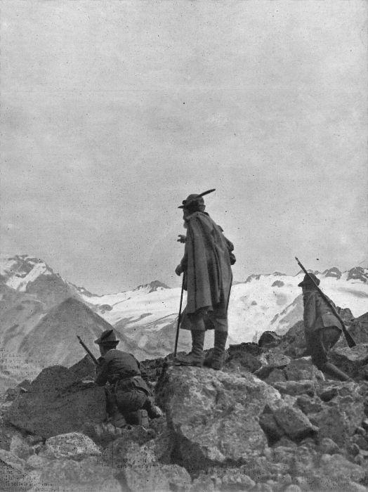 La nostra guerra in alta montagna. Vedette alpine a 5.000 metri