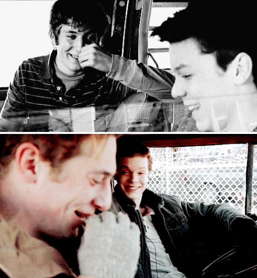 Lip & Ian Even though I am so pissed at Season 5, I do love this parallel <3