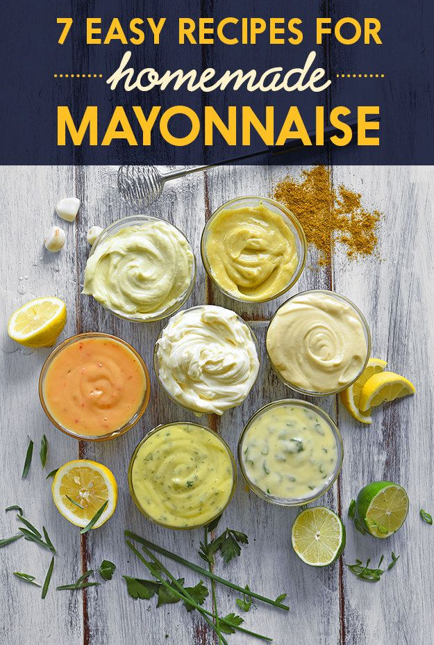 Once you've mastered basic mayonnaise, it's easy to add different herbs and spices to make flavored versions.
