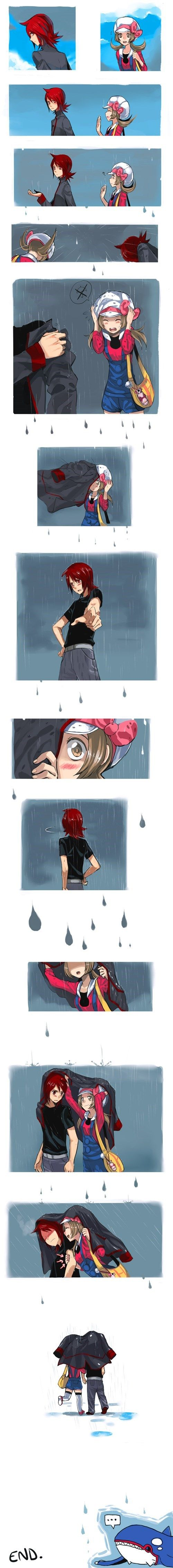 This is What Happens When it Suddenly Starts to Drizzle — TSUNDERE SILVER! <3