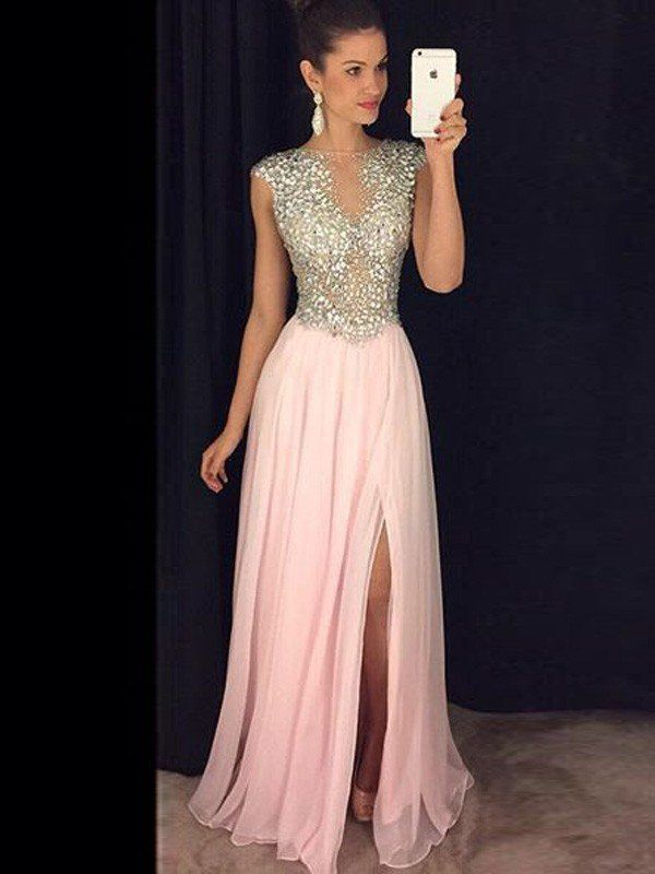 18 best Prom Dresses images on Pinterest | Chiffon dresses, Evening ...
