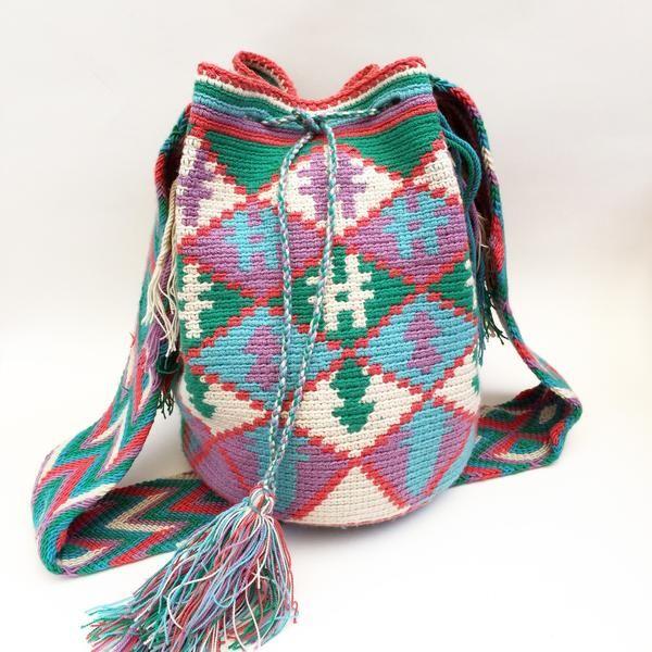 """""""Santa Maria"""" Hand Woven Mochila Bag"""