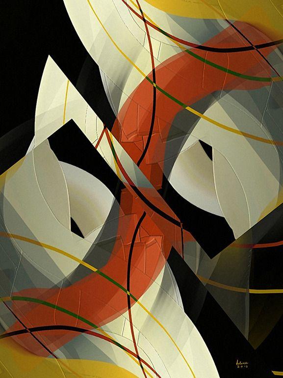 """Saatchi Online Artist: Helene Goldberg; Painting, 2012, Digital """"My Favorite Things"""""""