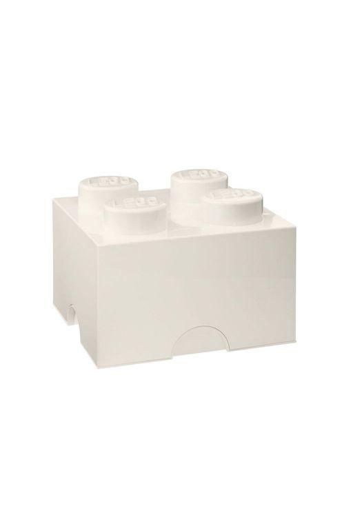 Inreda med LEGO eller samla allt ditt lego i dessa praktiska förvaringsboxar? Javisst! Med förvaringsboxar och papperskorgar i alla de klassiska legofärgerna. Perfekt för barnkammaren men egentligen snyggt, och praktiskt, i vilket rum som helst. Alla klossar och huvuden är kompatibla och kan byggas ihop, tillverkade av plast.<br><br>Mått: 25 x 25 x 18 cm <br><br>