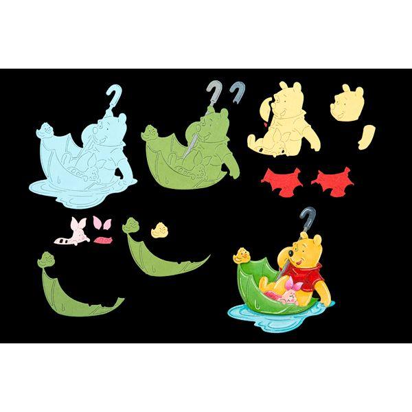 Disney Winnie The Pooh Pooh and Piglet Adventures Die (389781) | Create and Craft