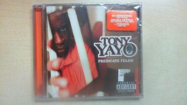 New Sealed W/ Hype Sticker Thoughts of a Predicate Felon by Tony Yayo B2D3 #EastCoast