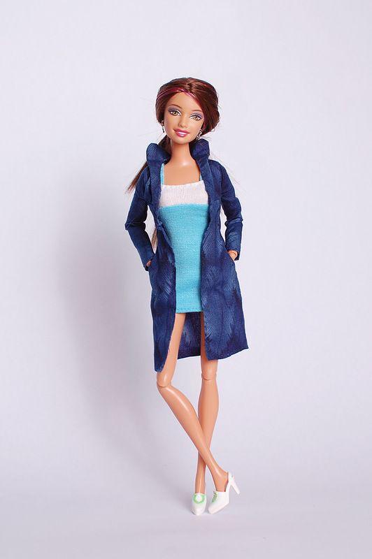Пиджак и короткое платье
