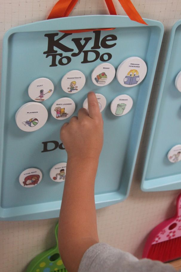 Make Cleaning Fun For Kids With A Simple DIY Chore Chart | A Spotted Pony
