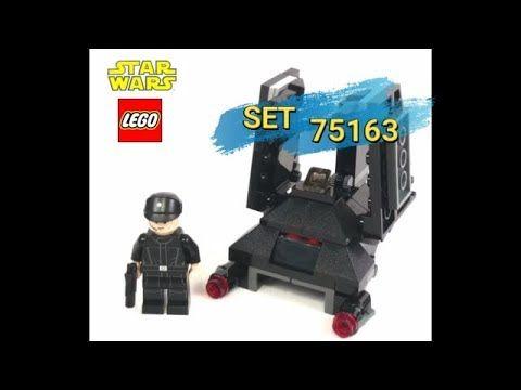 LEGO Star Wars set 75163 Krennics Imperial Shuttle Microfighter armado y...