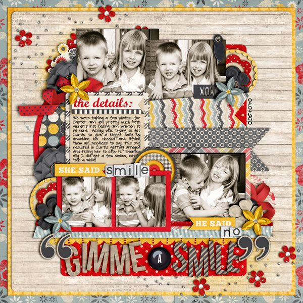 Layout: Gimme a Smile: Scrapbook Ideas, Designsdigit Scrap, Scrapbook Inspiration, Scrapbook Stuff, Scrapbook Projects, Scrapbook Ideal, Scrapbook Photo, Scrapbook Layout, Digi Layout