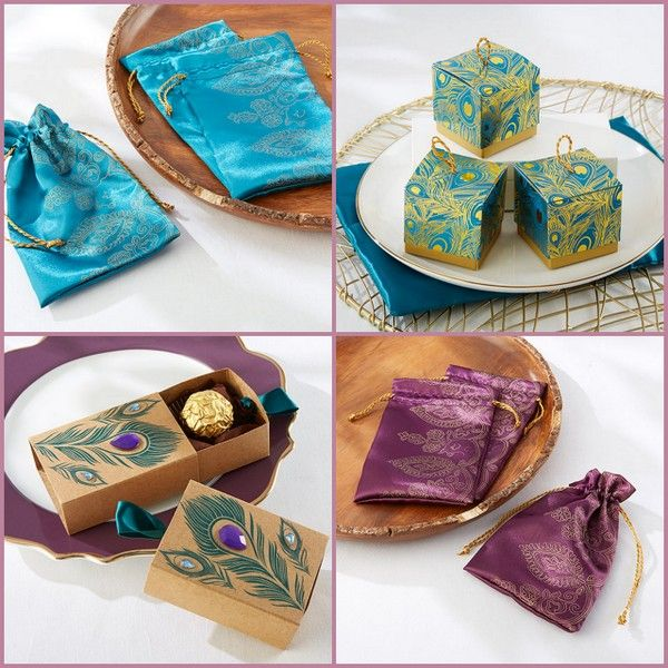 Indian Favor Boxes and Bags from HotRef.com
