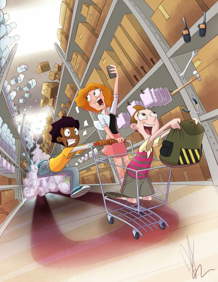 """Milo Murphy's Law Countdown Day ZERO! Here we go! Drawn to Al's song """"Hardware Store"""""""