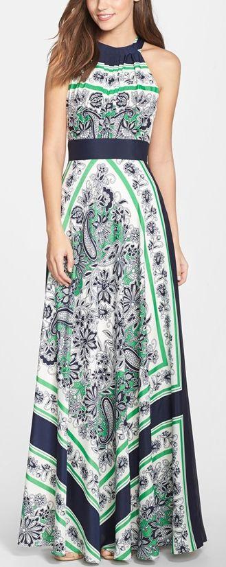 Dear Stitch Fix Stylist, I love the print on this maxi dress. It looks like it would be so flattering.