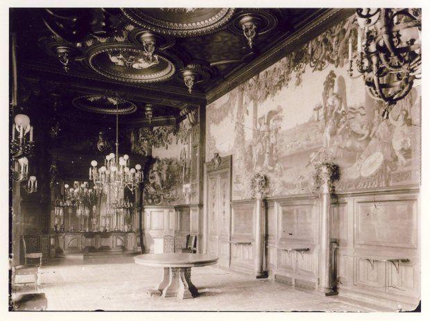 Zdjęcie numer 12 w galerii - Stary Zamek i Pałac w Świerklańcu na archiwalnych zdjęciach