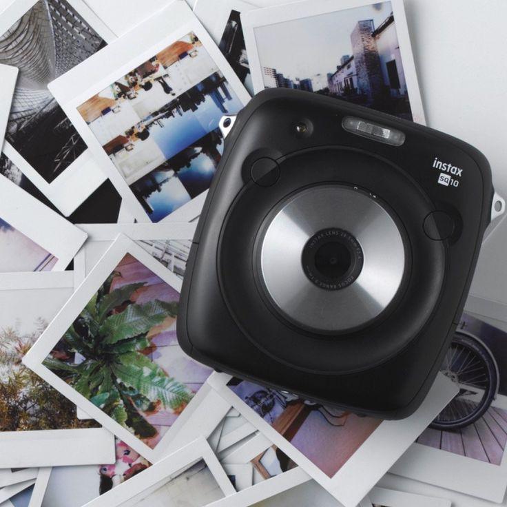Fujifilm Instax Square SQ10 Hybrid Camera #CameraGadgets, #instant, #photography