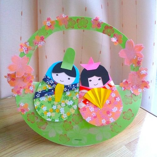 Matryoshka doll paper craft for Hina matsuri(March 3rd): the Festival of Dolls. Also called Girls' Day Festival. | by NanaAkua