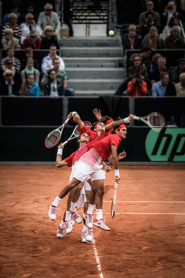 Roger Federer III - Action sequence by Juan Jimenez on 500px