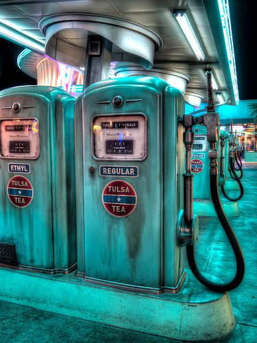 Regular or Ethyl - Cars Land...I remember when there were gas station attendants who pumped your gas..regular or ethyl, Mam?...i'm officially 'OLD'! :'(