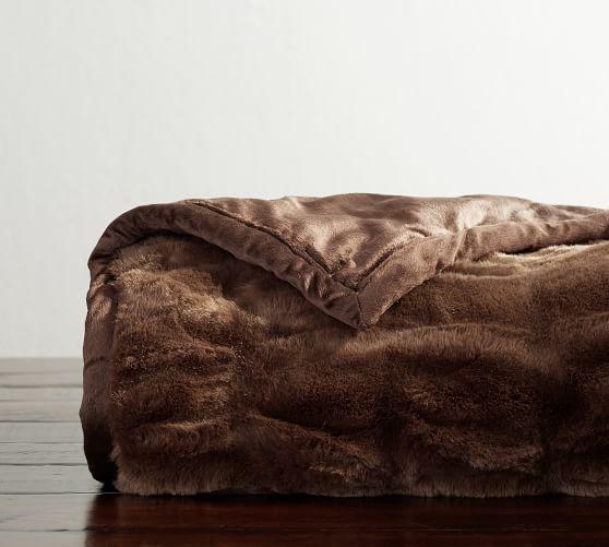 Faux Fur Ruched Throws Faux Fur Throw Cheap Living Room