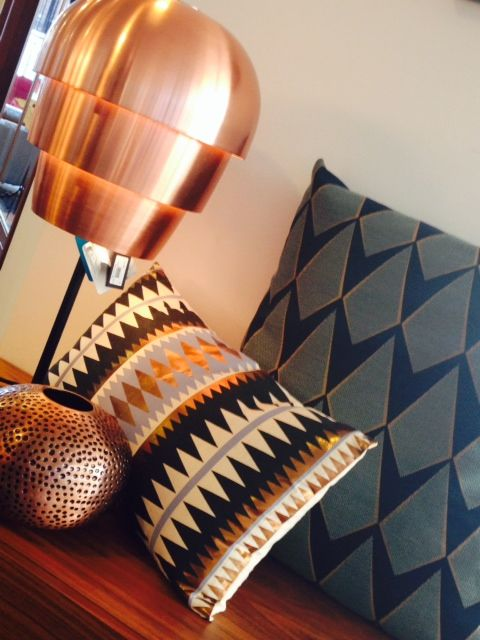 Copper Accessories-Style your home with this year's must have color!  boconcept.co.uk
