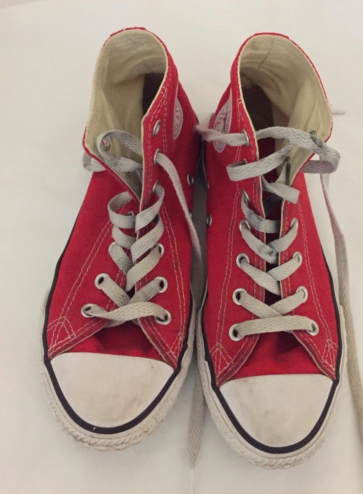 75b62441528 CONVERSE ALL STAR HI-TOPS RED YOUTH GIRLS SIZE 2  fashion  clothing  shoes   accessories  kidsclothingshoesaccs  girlsshoes (ebay link)