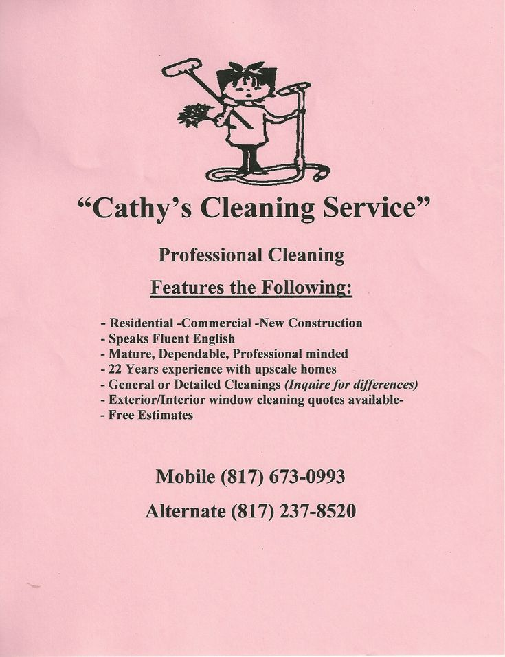 Best 25+ Cleaning Service Flyer Ideas On Pinterest Cleaning   Cleaning  Services Resume  Cleaning Services Resume