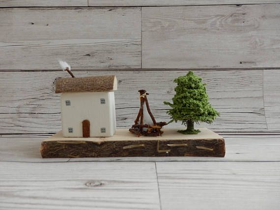 Bonfire Cottage home decorationhandmade wooden cottagewooden