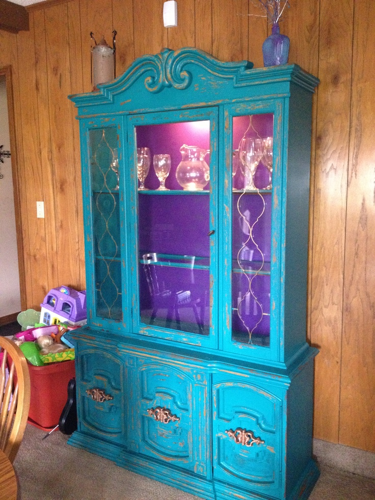 17 Best Images About China Cabinet Makeover Diy On