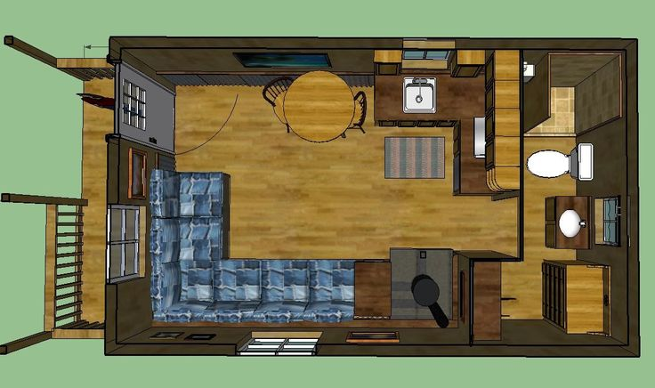 Cabins on Interior Deluxe Lofted Barn Cabin Floor Plans