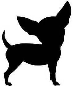 chihuahua Silhouette - Bing Images