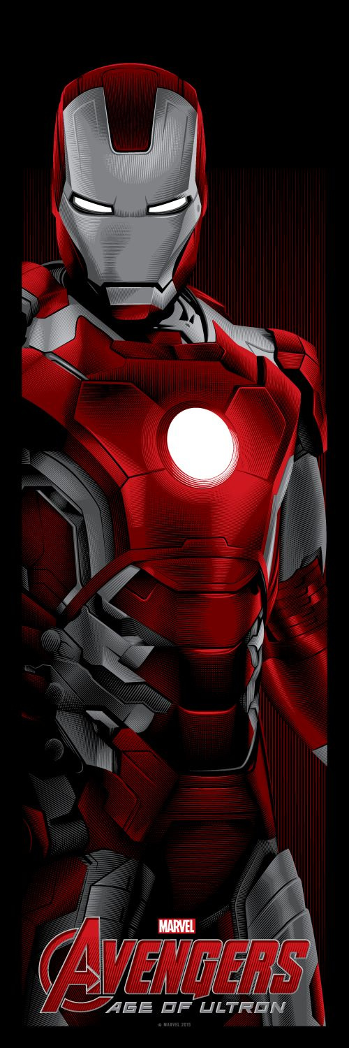 Avengers: Age of Ultron - Iron Man movie poster - Tracie Ching