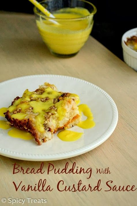 ... bread eggless vanilla vanilla custard bread puddings oats bread sauce