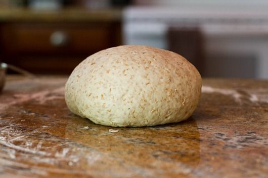 Homemade Whole Wheat Pizza Dough- need to start making my own, can't wait to try!