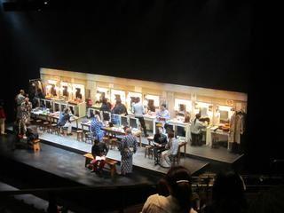 Ninagawa Company/ Cymbeline (蜷川幸雄演出/ シンベリン(シェイクスピア))@バービカンシアター - ロンドン テムズ川便り