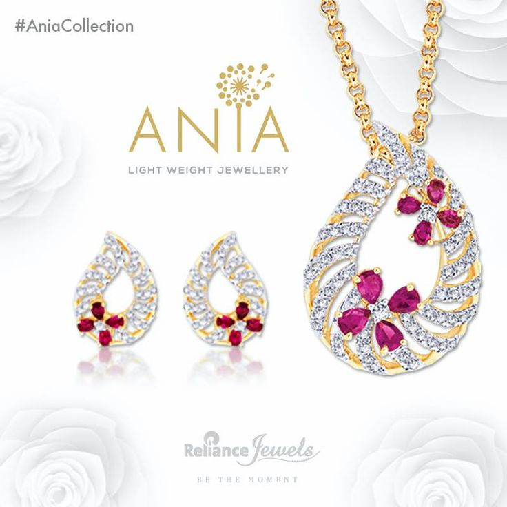 ‪#‎AniaCollection‬ Light Weight Jewellery. Stones embellished on vibrant ornates that act as a cure for everyday morning blues. Reliance Jewels Be The Moment. www.reliancejewels.com #reliance #reliancejewels #indianjewellery #beautiful #bridal #neverendingtrend #bethemoment #beyou
