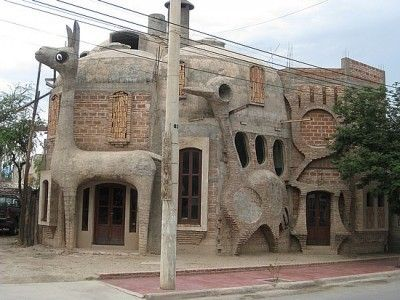 Peru - Llama House in Peru