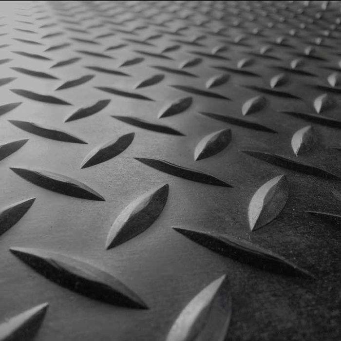 Diamond Plate Garage Flooring Roll In Black Rubber Flooring Rubber Floor Mats Diamond Plate