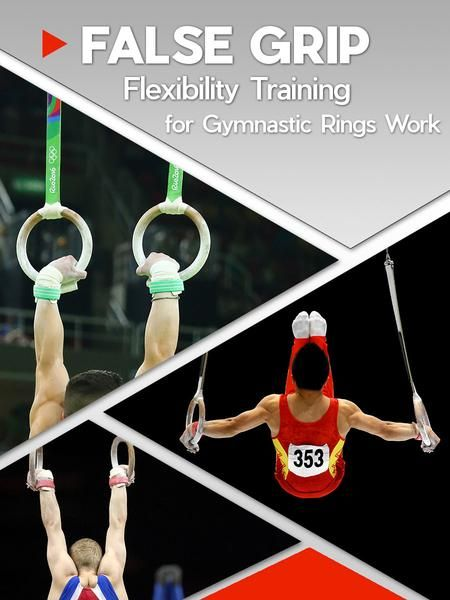 False Grip is a gripping technique used on gymnastic rings. Our stretching program fast, safe and pain free... helping you to improve your ring work.