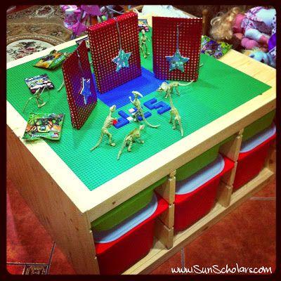 21 best images about lego city setup ideas on pinterest - Ikea trofast lego table ...